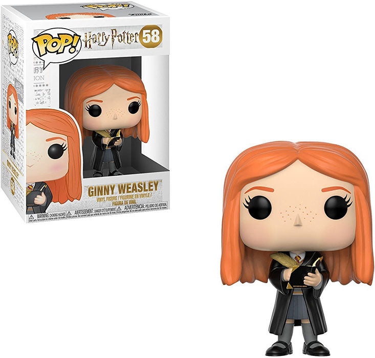Pop Movies 3.75 Inch Action Figure Harry Potter - Ginny Weasley #58