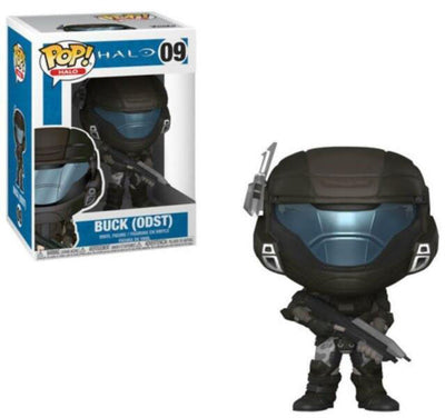 Pop Games 3.75 Inch Action Figure Halo - Buck ODST #09