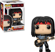 Pop Rocks 3.75 Inch Action Figure Motley Crue - Mick Mars #72