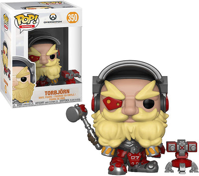 Pop Games 3.75 Inch Action Figure Overwatch - Torbjorn #350