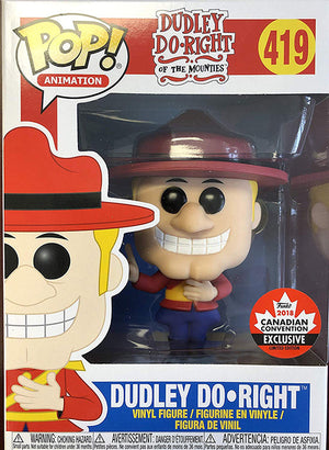 Pop Animation 3.75 Inch Action Figure Dudley Do Right - Dudley Do Right #419