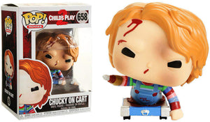 Pop Movies 3.75 Inch Action Figure Child's Play 2 - Chucky On Cart Exclusive #658
