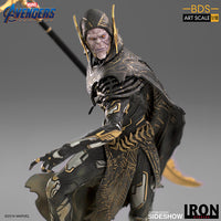 1:10 Art Scale 10 Inch Statue Figure Battle Diorama Series - Corvus Glaive (Black Order) Iron Studios 905658