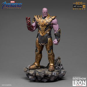 1:10 Art Scale 11 Inch Statue Figure Battle Diorama Series - Thanos Black Order Deluxe Iron Studios 905654