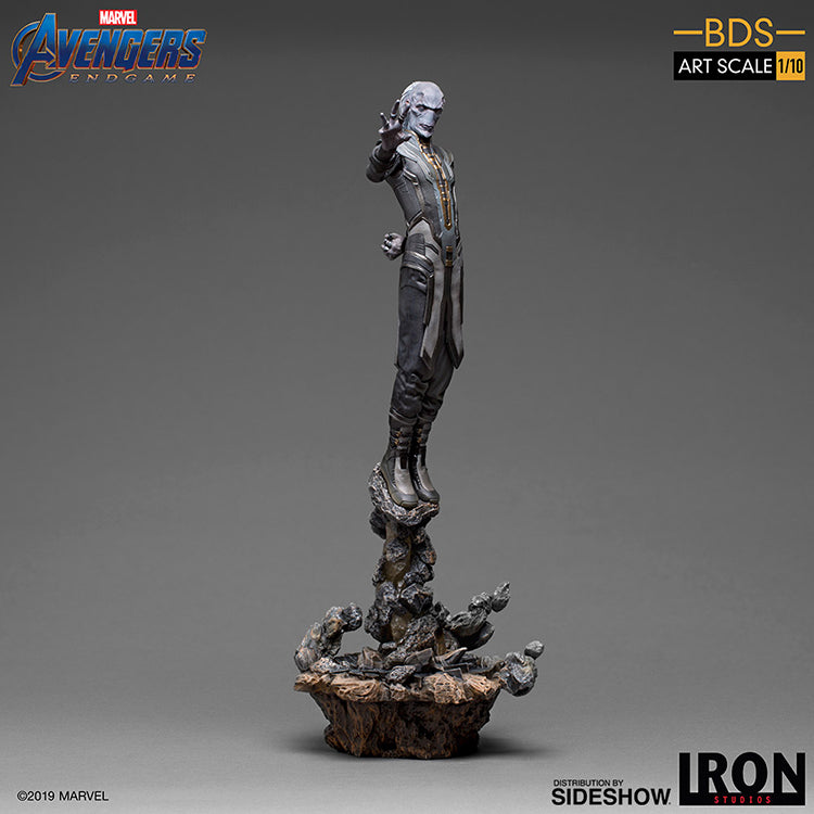 1:10 Art Scale 12 Inch Statue Figure Battle Diorama Series - Ebony Maw Black Order Iron Studios 905655