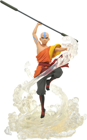 Avatar The Last Airbender 11 Inch Statue Figure Gallery Series - Aang