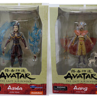 Avatar The Last Airbender Select 7 Inch Action Figure Series 2 - Set of 2 (Aang and Azula)