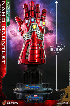 Avengers Endgame 9 Inch Prop Replica 1/4 Scale Series - Nano Gauntlet (Hul Version) Hot Toys 904727
