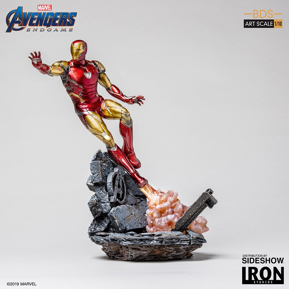 Avengers Endgame 10 Inch Statue Figure Battle Diorama Series - Iron Man Mark LXXXV Iron Studios 904714