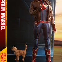Captain Marvel 12 Inch Action Figure Movie Masterpiece 1/6 Scale Series - Captain Marvel Deluxe Version Hot Toys 904311