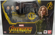 Avengers Infinity War 6 Inch Action Figure S.H. Figuarts - Black Widow (Shelf Wear Packaging)