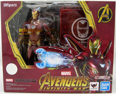 Avengers Infinity War 6 Inch Action Figure S.H. Figuarts - Iron Man Mk-50 Nano Version