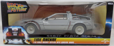Back To The Future Die Cast 6 Inch Vehicle Figure - Delorian Time Machine Car