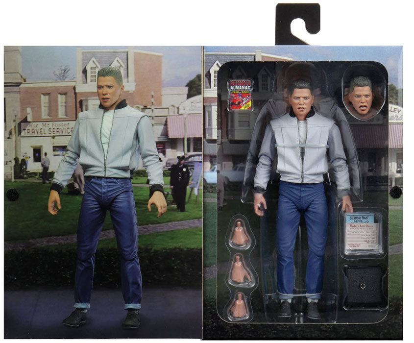 Back to the Future 7 Inch Action Figure Ultimate Series - Biff
