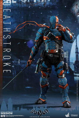 Batman Arkham Origins 12 Inch Action Figure Game Masterpiece 1/6 Scale Series - Deathstroke Hot Toys 903668