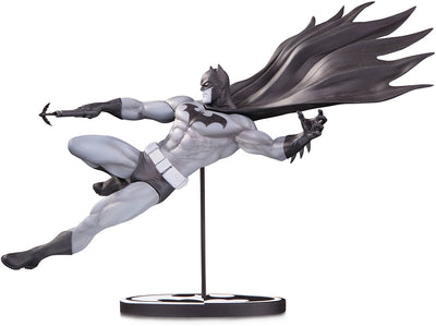 Batman Black and White 7 Inch Statue Figure - Batman by Doug Mahnke