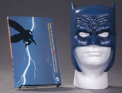 Batman Dark Knight Returns Life Size Comic Cosplay Box Set - Batman Book & Mask Set