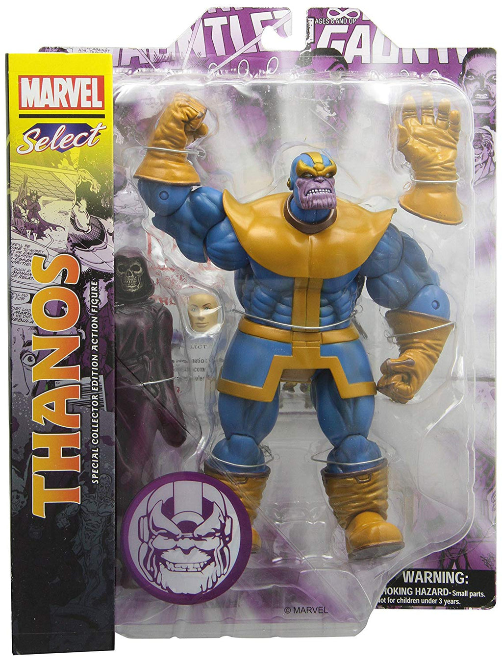 Marvel Select 8 Inch Action Figure Best Of Series 1- Thanos