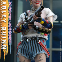 Birds Of Prey 11 Inch Action Figure 1/6 Scale Series - Harley Quinn Caution Tape Jacket Version) Hot Toys 906087