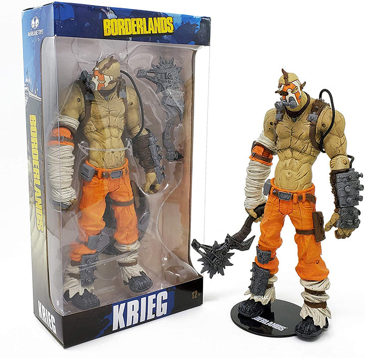 Borderlands 7 Inch Action Figure - Krieg