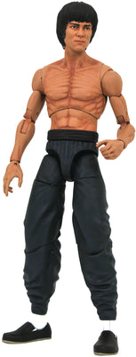 Bruce Lee 8 Inch Action Figure Select Series - Shirtless Bruce Lee
