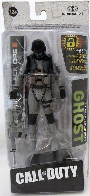 Call Of Duty 6 Inch Action Figure Exclusive - Simon Ghost Riley (Sub-Standard Packaging)