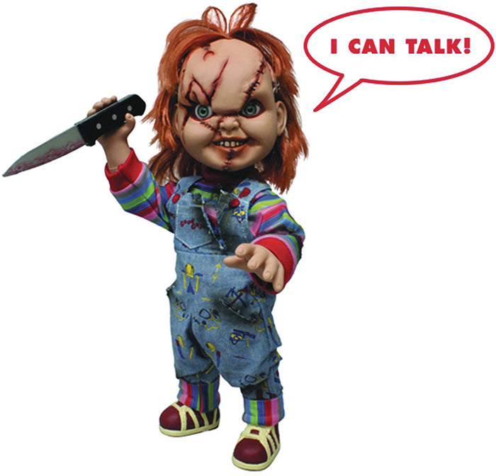 Child's Play Mega Scale 15 Inch Action Figure - Talking Chucky
