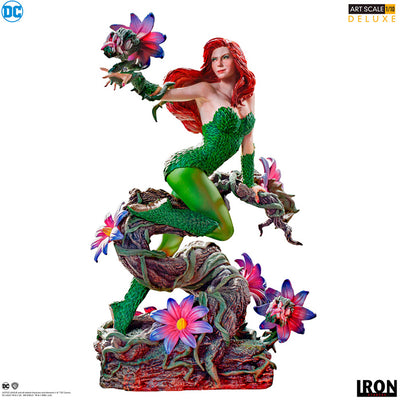 DC 1:10 Art Scale 8 Inch Statue Figure - Poison Ivy Iron Studios 906683