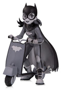 DC Artist Alley 6 Inch Statue Figure Chrissie Zullo - Batgirl Black & White