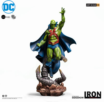 DC Collectible 12 Inch Statue Figure 1:10 Art Scale - Martian Manhunter Iron Studios 906409