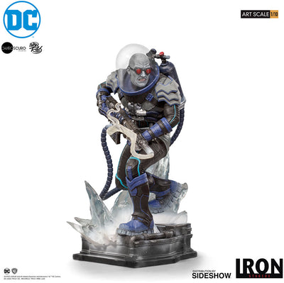 DC Collectible Batman Comics 6 Inch Statue Figure 1:10 Art Scale - Mr. Freeze Iron Studios 906394