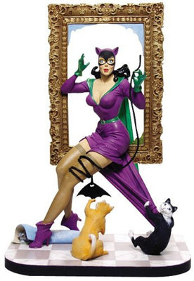 DC Collectible 7 Inch Statue Figure Pinup Series - Catwoman