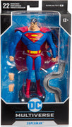 DC Multiverse 7 Inch Action Figure Animated Series - Superman
