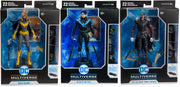 DC Multiverse 7 Inch Action Figure BAF Batmobile Series - Set of 3 (Nightwing - Batgirl - Batman Who Laughs)