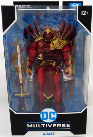 DC Multiverse Batman Curse of The White Knight 7 Inch Action Figure Comic Series - Azrael