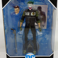 DC Multiverse Batman White Knight 7 Inch Action Figure Comic Series - The Joker