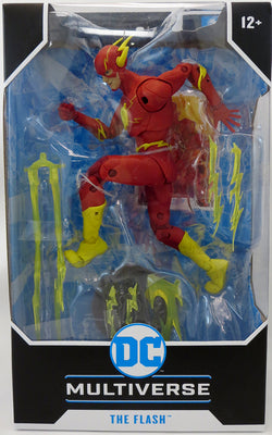 DC Multiverse 7 Inch Action Figure Comic Series Wave 3 - The Flash (Modern)