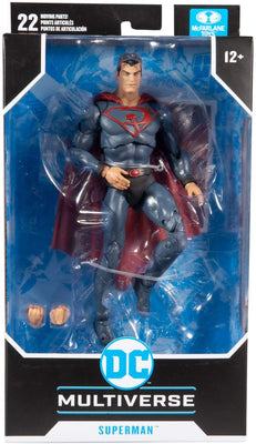DC Multiverse Comic Series 7 Inch Action Figure Wave 4 - Red Son Superman