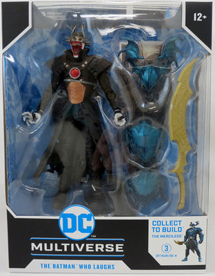 DC Multiverse Dark Nights Metal 7 Inch Action Figure BAF The Merciless - Batman Who Laughs Hawkman