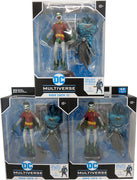 DC Multiverse Dark Nights Metal 7 Inch Action Figure BAF The Merciless - Robin Earth-22 (Set of 3)