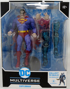 DC Multiverse Dark Nights Metal 7 Inch Action Figure BAF The Merciless - Superman The Infected