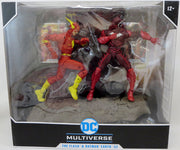 DC Multiverse DC Comics 6 Inch Action Figure 2-Pack Exclusive - Batman (Red Death) and The Flash