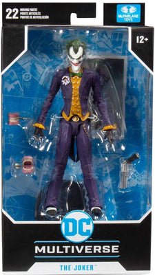 DC Multiverse 7 Inch Action Figure Gaming Series Arkham Asylum - Arkham Joker
