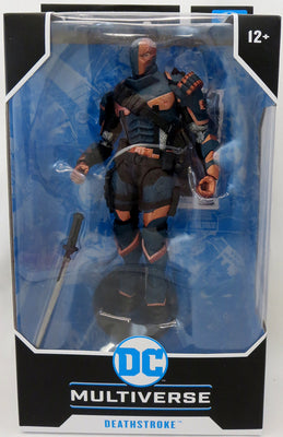 DC Multiverse 7 Inch Action Figure Gaming Series Wave 2 - Deathstroke Arkham Origins