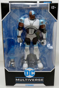 DC Multiverse Teen Titans Go 7 Inch Action Figure Animated Series - Cyborg