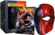 Deathstroke Gods Of War Life Size Comic Cosplay Box Set - Deathstroke Book & Mask Set