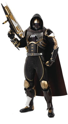 Destiny 2 12 Inch Action Figure 1/6 Scale - Hunter Sovereign Golden Trace Shader
