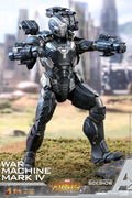 Die Cast Avengers Infinity War 12 Inch Action Figure MMS 1/6 Scale Series - War Machine Mark IV Hot Toys 903796