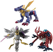 Digimon Adventure 3 Inch Action Figure Shokugan - Set of 3 (MetalGarurumon - MagnaAngemon - MegaKabuterimon)
