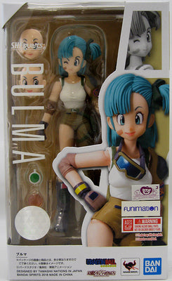 Dragonball 5 Inch Action Figure S.H. Figuarts - Bulma
